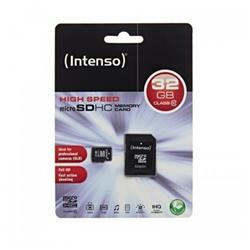 Micro SD Intenso - Class 10 - scheda di memoria flash - 32 gb - microsdhc 3413480