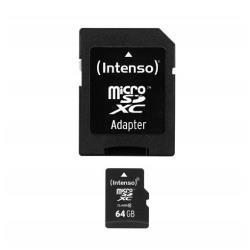 Micro SD Intenso - Scheda di memoria flash - 64 gb - microsdxc 3413490
