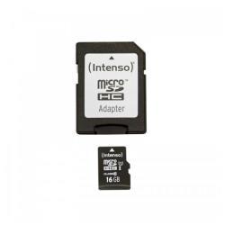 Micro SD Intenso - Premium - scheda di memoria flash - 16 gb - uhs-i microsdhc 3423470