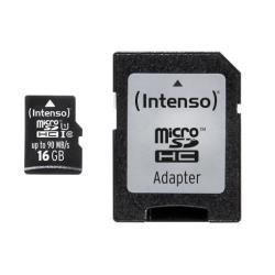 Micro SD Intenso - Scheda di memoria flash - 16 gb - uhs-i microsdhc 3433470