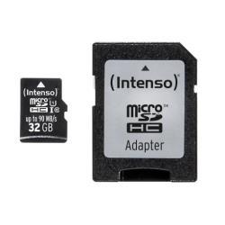 Micro SD Intenso - Scheda di memoria flash - 32 gb - uhs-i microsdhc 3433480