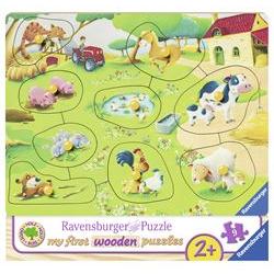 Puzzle Ravensburger - Il Mio Primo Puzzle - Piccola Fattoria 3683