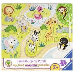 Puzzle Il mio Primo Puzzle di Legno Andiamo allo Zoo 3687