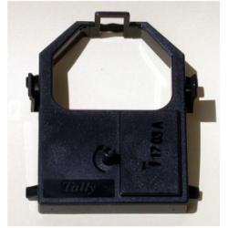 Nastro Tally Mannesmann - Tallygenicom - 5 - nero - nastro di tessuto per stampante 394086