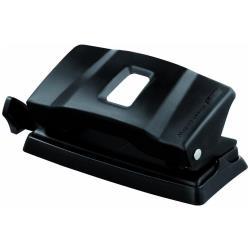 Perforatore Maped - Essentials e4011 - perforatore - 12 fogli - s fori - metallo - nero opaco 401111