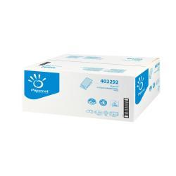 Asciugamani Papernet - Asciugamani di carta - 210 fogli - piega a v - bianco 402292