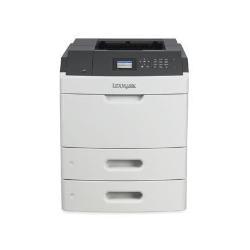 Imprimante laser Lexmark MS811dtn - Imprimante - monochrome - Recto-verso - laser - A4/Legal - 1200 x 1200 ppp - jusqu'à 60 ppm - capacité : 1200 feuilles - USB, Gigabit LAN, hôte USB