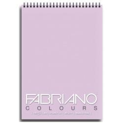 Blocco Fabriano - Colours A6 Notes Lavanda Confez.5pz