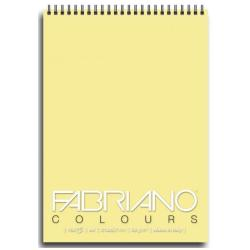 Blocco Fabriano - Colours A6 Notes Banana Confez.5pz