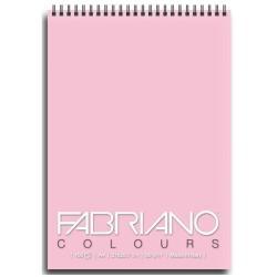Blocco Fabriano - Colours A6 Notes Rosa Confez. 5 pz.