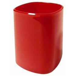 Portapenne Tazza per matite rosso opaco 4111rosso