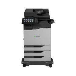 Imprimante laser multifonction Lexmark CX825dtfe - Imprimante multifonctions - couleur - laser - Legal (216 x 356 mm)/A4 (210 x 297 mm) (original) - A4/Legal (support) - jusqu'à 52 ppm (copie) - jusqu'à 52 ppm (impression) - 1750 feuilles - 33.6 Kbits/s - USB 2.0, Gigabit LAN, hôte USB