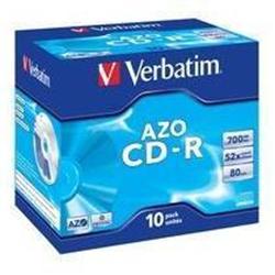 CD Verbatim - Datalifeplus - cd-r x 10 - 700 mb - supporti di memorizzazione 43327/10