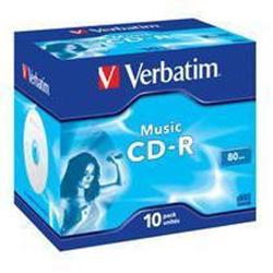 CD Verbatim - Live it! - cd-r x 10 - supporti di memorizzazione 43365