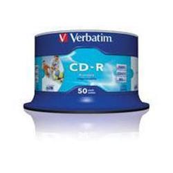 CD Verbatim - Datalifeplus - cd-r x 50 - 700 mb - supporti di memorizzazione 43438/50