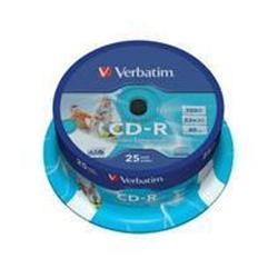 CD Verbatim - Datalifeplus - cd-r x 25 - 700 mb - supporti di memorizzazione 43439/25