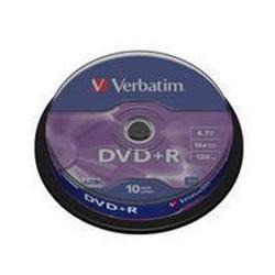 DVD Verbatim - Datalifeplus - dvd+r x 10 - 4.7 gb - supporti di memorizzazione 43498/10