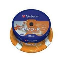 Image of DVD Dvd-r x 25 - 4.7 gb - supporti di memorizzazione 43538/25