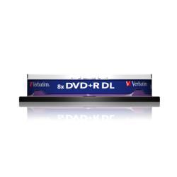 DVD Verbatim - Dvd+r dl x 10 - 8.5 gb - supporti di memorizzazione 43666/10
