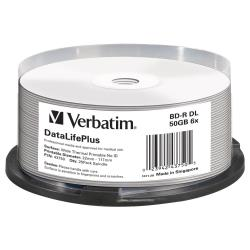 Verbatim - Datalifeplus - bd-r x 25 - 50 gb - supporti di memorizzazione 43750