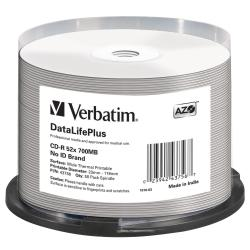 CD Verbatim - 43756 43756/50