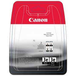 Serbatoio Canon - Bci-3e twin black pack - confezione da 2 - nero - originale 4479a298