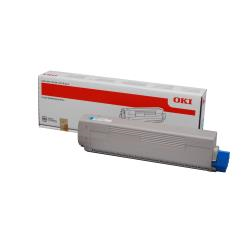 Toner Oki - Ciano - originale - cartuccia toner 44844615