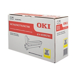 Toner Oki - Giallo - originale - kit tamburo 45395701