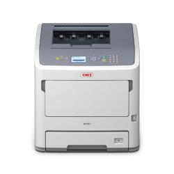 Imprimante laser OKI B721dn - Imprimante - monochrome - Recto-verso - LED - A4 - 1200 x 1200 ppp - jusqu'à 47 ppm - capacité : 630 feuilles - USB 2.0, Gigabit LAN, hôte USB