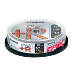 DVD Fujifilm - Dvd+r x 10 - 4.7 gb - supporti di memorizzazione 47592