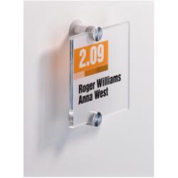 Targa Durable - Crystal sign porta nome 4820-19