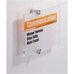 Targa Durable - Crystal sign porta nome 4822-19