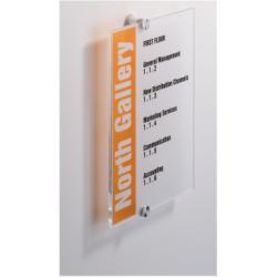 Targa Durable - Crystal sign porta nome 4825-19