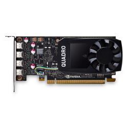 Scheda video Dell Technologies - Quadro p1000 - kit cliente - scheda grafica - quadro p1000 - 4 gb 490-bdxn