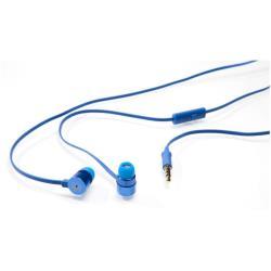 Verbatim Active Earphones with Microphone - Écouteurs avec micro - intra-auriculaire - jack 3,5mm - bleu