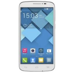 """Smartphone Alcatel One Touch POP 2 5042D - Smartphone - double SIM - 4G LTE - 8 Go - microSDHC slot - GSM - 4.5"""" - 480 x 854 pixels - TFT - RAM 1 Go - 5 MP (caméra avant de 0,3 mégapixels) - Android - blanc"""