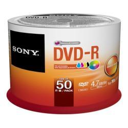 DVD Sony - Dvd-r x 50 - 4.7 gb - supporti di memorizzazione 50dmr47pp