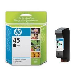 Cartuccia HP - 45 large - large - nero - originale - cartuccia d'inchiostro 51645ae
