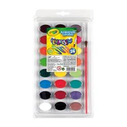 Acquerelli Crayola - Washable watercolors - pittura (pacchetto di 24) 53-0524