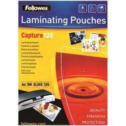 Pouches a caldo Laminating pouches capture 125 micron confezione da 100 brillante 5307506