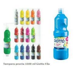 Tempera Giotto - Extra quality - pittura - tempera - rosso scarlatto - 1000 ml 533408