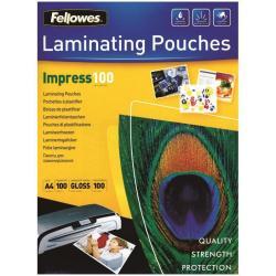 Pouches a caldo Laminating pouches impress 100 micron confezione da 100 brillante 5351205