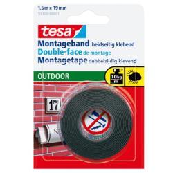 Nastro Tesa - Powerbond outdoor nastro biadesivo - 19 mm x 1.5 m - trasparente 55750-00002-02