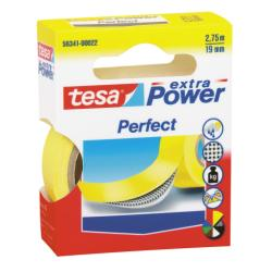 Nastro Tesa - Extra power perfect nastro in tessuto - 19 mm x 2.75 m - giallo 56341-00030-03