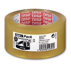 Nastro Tesa - Tesapack strong nastro da imballaggio - 50 mm x 66 m 57167-00000-05