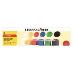 Tempera Faber Castell - Pittura - tempera - colori assortiti - 25 ml (pacchetto di 6) 575506