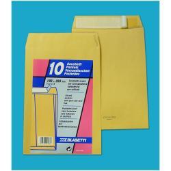 Busta Blasetti - Mailpack - busta - 230 x 330 mm - estremità aperta - marrone - pacco da 10 579