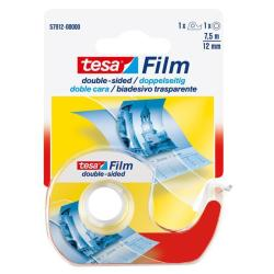 Nastro Tesa - Tesafilm - dispenser con nastro biadesivo - 12 mm x 7.5 m 57912-00000-00