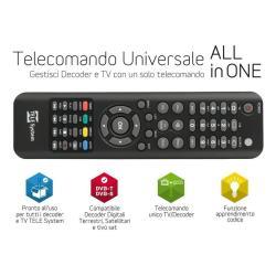 Telecomando Telesystem - Tele system telecomando universale - nero 58040107