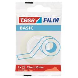 Nastro adesivo Tesa - Tesafilm nastro ufficio - 15 mm x 33 m - trasparente 58542-00000-00